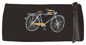 Bicicletta Pencil Cosmetic Bag