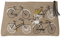 Bicicletta Large Cosmetic Bag