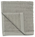 Pewter Gray Aegean Facecloth