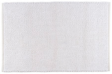White Bumpy Bath Mat