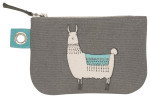 Llamarama Small Zipper Pouch