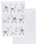 Llamarama Dishtowels <br> Set of 2