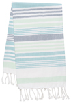 Hammam Hand Towel <br> Mint Stripe