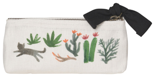 Secret Garden Pencil Cosmetic Bag