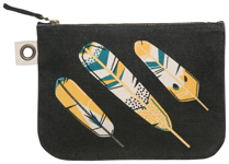 Chirp Large Zipper Pouch