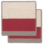 Cardinal Sasha Crochet Dishcloths <br> Set of 2