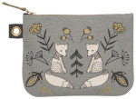 Wild Tale Large Zipper Pouch