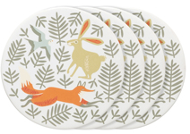 Hill & Dale Ceramic Coasters <br> Set of 4