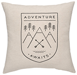 Adventure Awaits Cushion