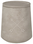 Arrows Concrete Canister Large