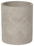Arrows Concrete Utensil Crock