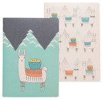 Llamarama Notebooks <br> Set of 2