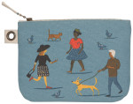 People Person Large Zipper Pouch