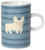 Frenchie And Cat Tall Mug