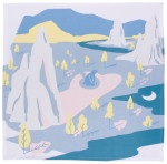 Mountain Hug Dishtowel