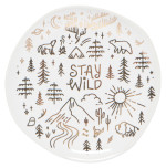 Stay Wild Trinket Tray