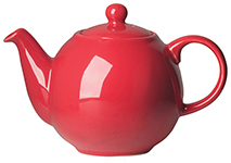 Red Globe Teapot <br> 2-cup