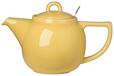 Lemon Geo Filter Teapot <br> 4-cup
