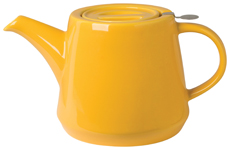 Hi-T Filter Teapot <br>Honey 4-Cup