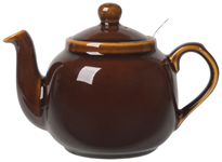 Farmhouse Filter Teapot <br> 4-Cup Rockingham