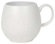 Pebble White Flecks Mug