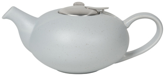 Pebble Blue Flecks Teapot <br> 4-cup
