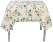 60x90 in Winterblossom Printed Table Cloth