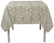 Fanfare Jacquard Tablecloth 55 x 55 inch