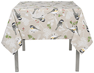 Chickadee Tablecloth <br> 54 x 72 inch