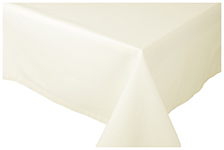Ivory Spectrum Tablecloth <br> 60 x 108 inch