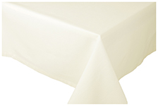 Ivory Spectrum Tablecloth <br> 60 x 120 inch