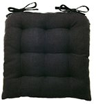 Black Spectrum Chair Pad