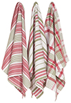 Holiday Jumbo Dishtowels <br> Set of 3