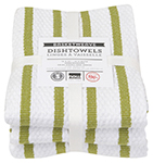 Cactus Basketweave Dishtowels <br> Set of 3