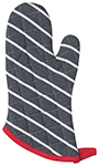 Butcher Stripe Mitt