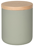 Agate Grey Canister Med