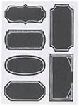 Chalkboard Labels <br> Set of 18 Large
