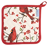 Cardinals Potholder