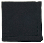 Black Hemstitch Napkin