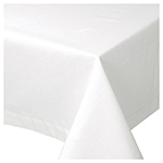 White Hemstitch Tablecloth <br> 60 x 60 inch