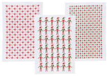 Peppermint Pop Dishtowels <br> Set of 3