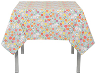 Flowers Of The Month Tablecloth <br> 60 x 60 inch