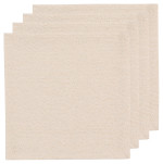 Gold Luster Napkins <br> Set of 4
