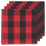 Buffalo Check Napkins <br> Set of 4