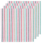 North Pole Stripe Napkins <br> Set of 4