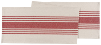 Chili Canvas Stripe Runner
