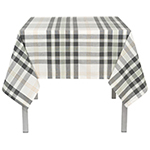 Hudson Plaid Tablecloth <br> 60 x 120 inch