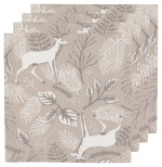 Noble Deer Napkins <br> Set of 4