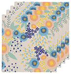 Rosa Printed Napkins <br> Set of 4