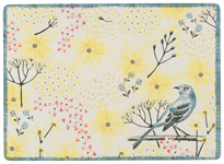Mockingbird Cork-Backed Placemats <br> Set of 4
